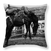Rodeo Power Of Conviction Throw Pillow
