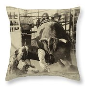 Rodeo Prepared To Be Punished Throw Pillow