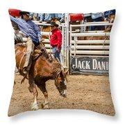Rodeo Ride Throw Pillow