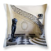 Rodin Museum Throw Pillow