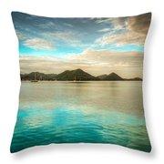 Rodney Bay Glow Throw Pillow