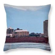 Roger Blough With Sarnia Skyline Throw Pillow