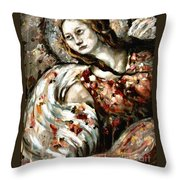 Roger Over And Out Throw Pillow