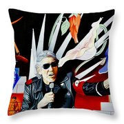 Roger Waters-the Wall Throw Pillow