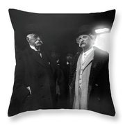 Rogers And Clemens, C1900 Throw Pillow