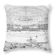 Rogers Centre Line Throw Pillow
