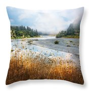 Rogue River Throw Pillow