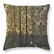 Rogue's Lace Throw Pillow