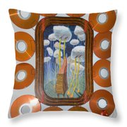 Roll Them Where You Want Them - Framed Throw Pillow