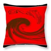 Roll Tide Roll - Alabama Football Throw Pillow by Travis Truelove