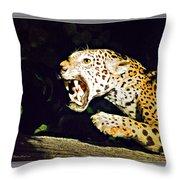 Rolling Hills Wildlife Adventure 4 Throw Pillow
