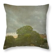 Rolling Over Charleston Throw Pillow