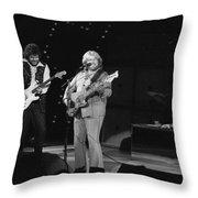 Rolling Through Spokane In 1976 Throw Pillow