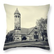 Rollins Chapel Dartmouth College Hanover New Hampshire Throw Pillow