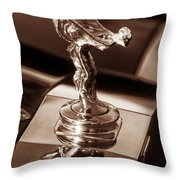 Rolls Ornament Throw Pillow