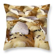 Rolls-painting Throw Pillow