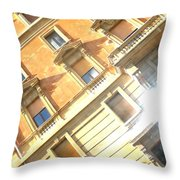 Roma Windows Throw Pillow