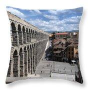 Roman Aqueduct I Throw Pillow