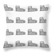 Roman Colosseum Throw Pillow