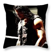 Roman Reigns Throw Pillow