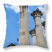 Roman Ruins Throw Pillow