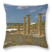 Roman Ruins Of Baelo Claudia Throw Pillow