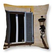 Roman Window Throw Pillow