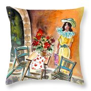Romance In Siracusa Throw Pillow
