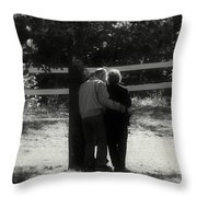 Romance Never Dies Throw Pillow