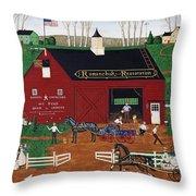 Romanchuk Restoration Throw Pillow