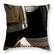 Romanee Conti Throw Pillow by Jon Neidert