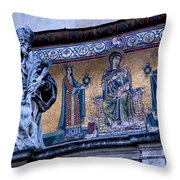 Romanesque Campanile Throw Pillow
