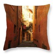Romano Cartolina Throw Pillow
