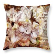 Romans 12 1 Throw Pillow