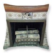 Romantic Militaria Mantelpiece Throw Pillow
