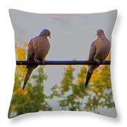Romantic Moments Throw Pillow