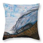 Romantic Mountains Throw Pillow