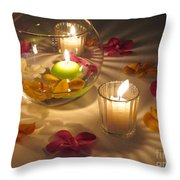 Romantic Setting Throw Pillow