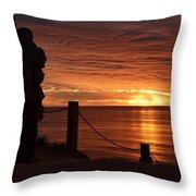 Romantic Setting Throw Pillow