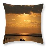 Romantic Sunrise Throw Pillow
