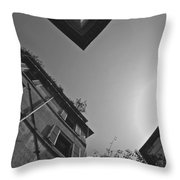 Rome Abstracted Throw Pillow