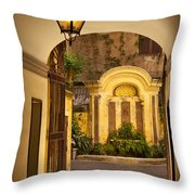 Rome Entry Throw Pillow