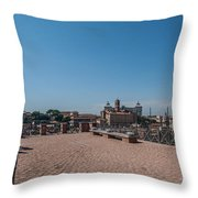 Rome From Above Throw Pillow