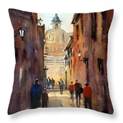 Rome Throw Pillow by Ryan Radke