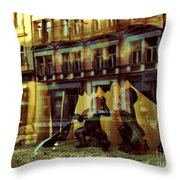 Romus And Romulus Throw Pillow