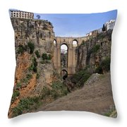Ronda Spain Throw Pillow