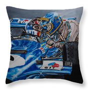 Ronnie And Francois Throw Pillow