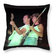 Ronnie Montrose Throw Pillow
