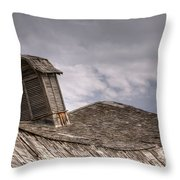Roof Detail End Of An Era Throw Pillow