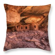 Roof Falling In Ruin 2 Throw Pillow